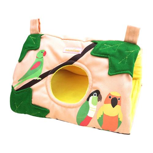なかよしバード さんかくトンネル(M)/インコ ハウス おもちゃ ゆうパケット発送可能