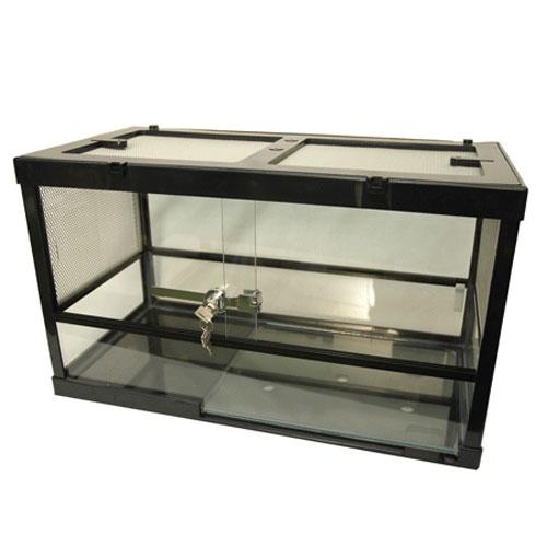 爬虫類ケージ ケースバイケース60M(ヒーターの入れる面は後面用)サイズ:608x305x355mm