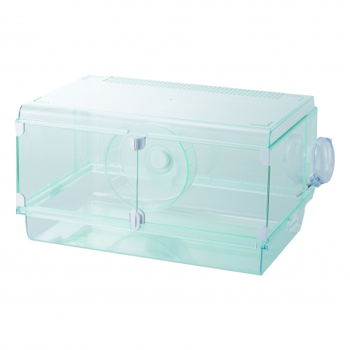 市場 前面ガラス両開きタイプでメンテがとてもしやすい OK ハムスター ケージ GEX 人気ブレゼント! グラスハーモニー600プラス サイズ:幅58.0×奥行39.2×高さ32.0cm ハビんぐ