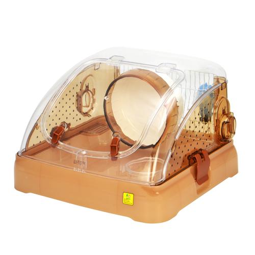 ジャンガリアン スターターセット 飼育キット ハムスター用品 ハムポット ハイクオリティ C03 ブラウン お気にいる サンコー