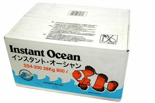 海水 海水魚 特価品 人工海水 サンゴ 送料無料 インスタントオーシャン800L 代金引換不可 箱入り 贈与 ※同梱不可 驚きの価格が実現 離島は別途送料加算 及び沖縄県 200Lx4個入り