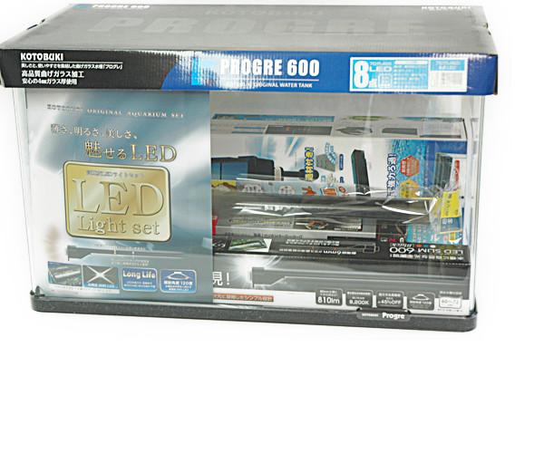 コトブキ プログレ600 LED 8点セット(サイズ:600x300x360mm)