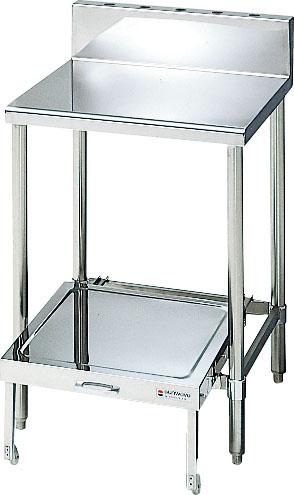 サンウェーブ業務用設備機器炊飯器置台(炊飯カート付属)バックガード付間口750奥行600  S-RWT075B0B