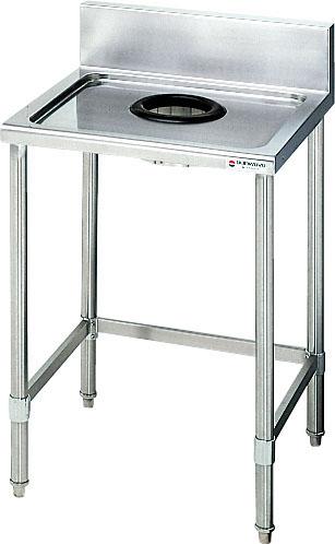 サンウェーブ業務用設備機器食器下げ台間口600奥行600  S-DWT090B0B  S-DWT090B0N