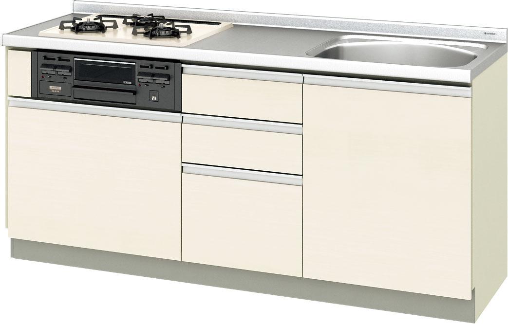 LIXIL サンウェーブ 取替えキッチン パッとりくん 間口175センチ GXシリーズ GXI-U-175XNA GXC-U-175XNA