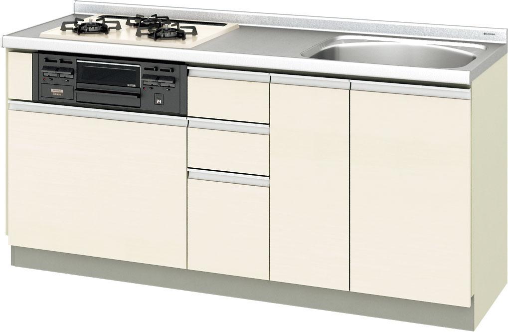 LIXIL サンウェーブ 取替えキッチン パッとりくん 間口170センチ GXシリーズ GXI-U-170XNA GXC-U-170XNA