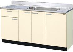 送料無料お手入れ要らず LIXIL サンウェーブ 限定品 木製キャビネット GKシリーズ GKW-S-150MYN GKF-S-150MYN 流し台