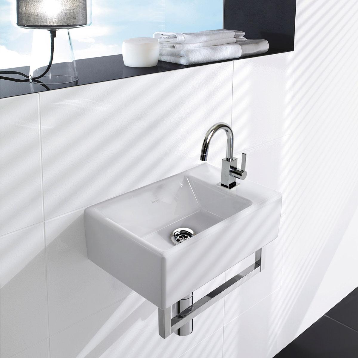 リラインス 壁付型手洗器 Villeroy&Boch(ビレロイ&ボッホ) MEMENTOメメント 5333.41.01SET