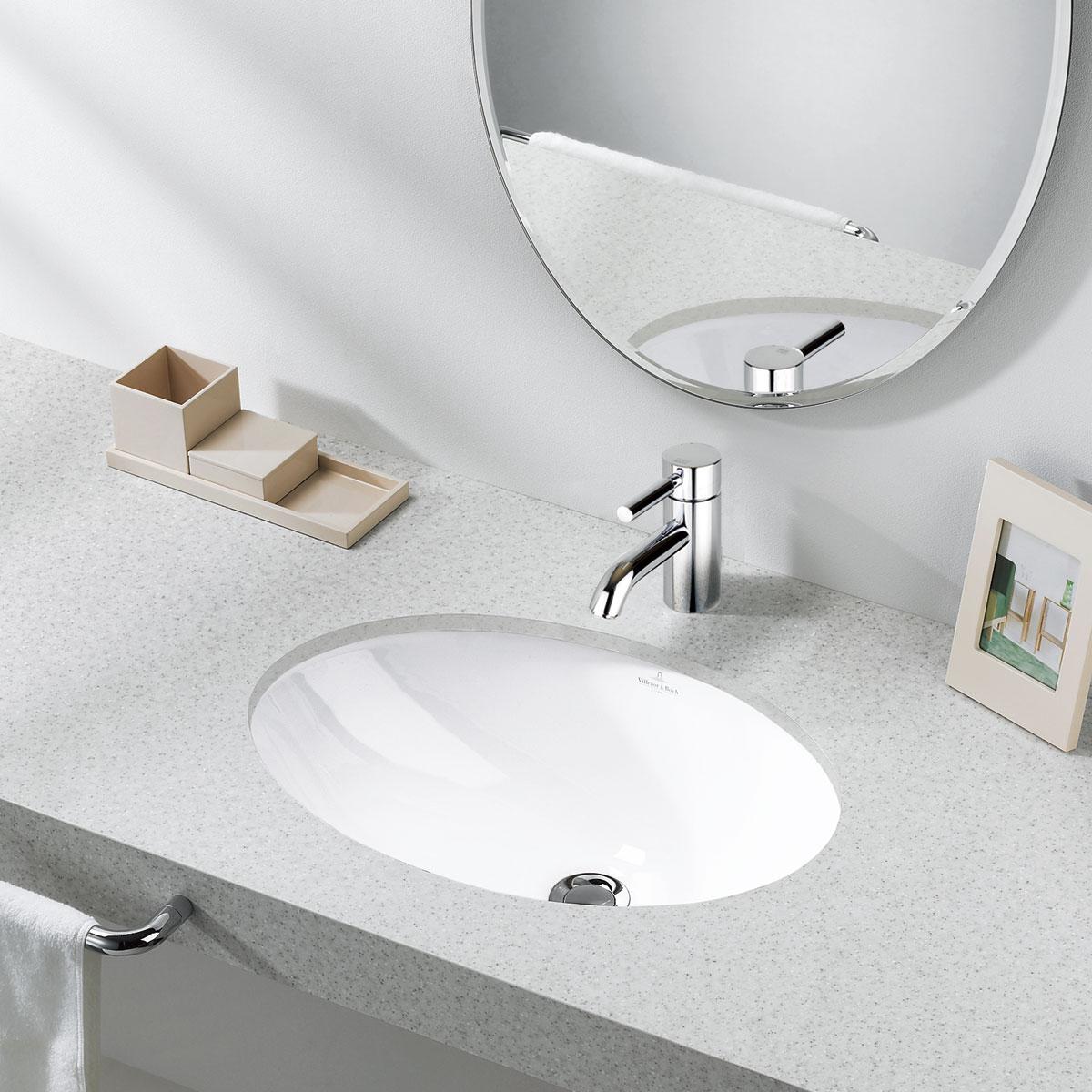 リラインス アンダーカウンター手洗器 Villeroy&Boch(ビレロイ&ボッホ) EVANAエヴァナ 6147.00.01