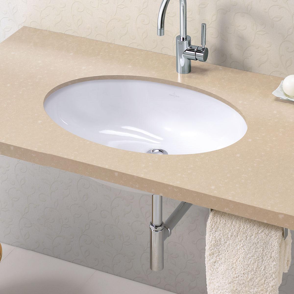 リラインス アンダーカウンター型洗面器 Villeroy&Boch(ビレロイ&ボッホ) EVANAエヴァナ 6144.00.01