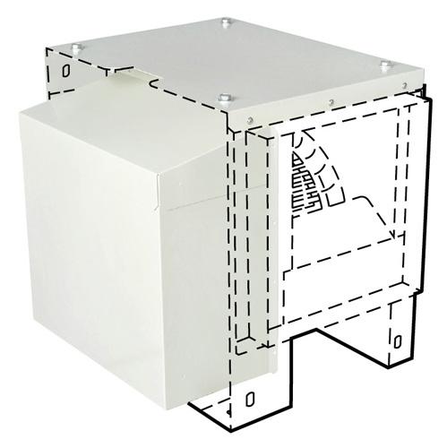 三菱電機 空調用送風機 システム部材 片吸込形シロッコファン屋外設置用カバー PS-30CVR (PS30CVR)
