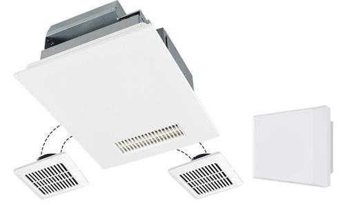 三菱電機 浴室換気暖房乾燥機 バスカラット24 3部屋用 V-243BZL2-HM (V243BZL2HM)