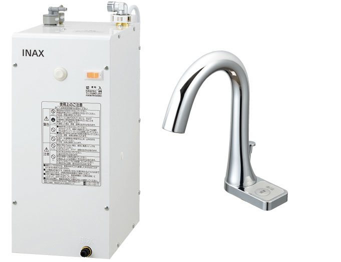 LIXIL INAX ゆプラス 自動水栓セット 適温出湯6Lタイプ EHMN-CA6S9-AM211CV1