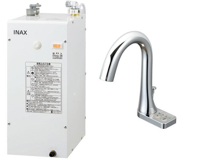 LIXIL INAX ゆプラス 自動水栓セット 適温出湯6Lタイプ EHMN-CA6S10-AM213V1