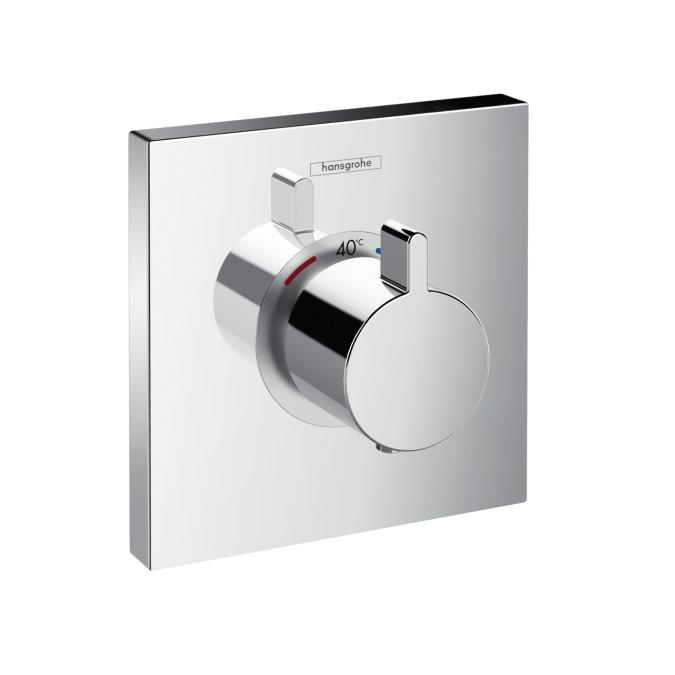 ハンスグローエ Hansgrohe シャワーセレクト 埋込式ハイフローサーモスタット混合水栓 15760000 + 01800180