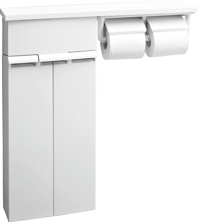 LIXIL ファクトリーアウトレット INAX 壁付収納棚 紙巻器付 WA 内祝い TSF-110WU
