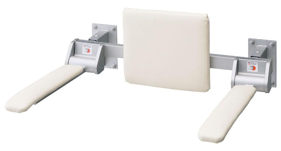 LIXIL INAX 肘掛け手すり(壁付式・背もたれ付) 合成皮革タイプ ロングタイプ KFC-274EU2