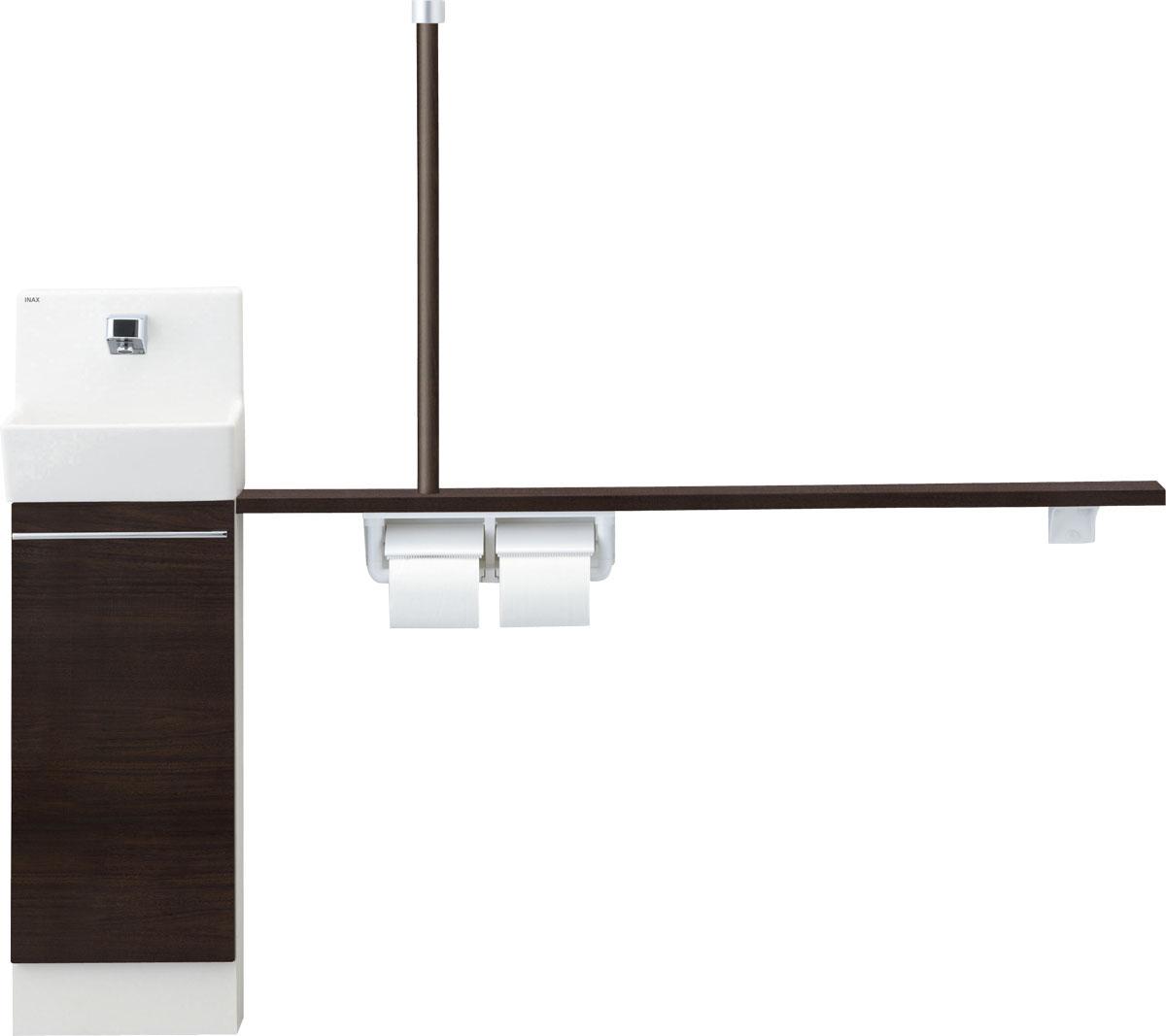 LIXIL INAX トイレ手洗 コフレル スリム(埋込)カウンター間口1200サイズ YL-DA82VTH12B