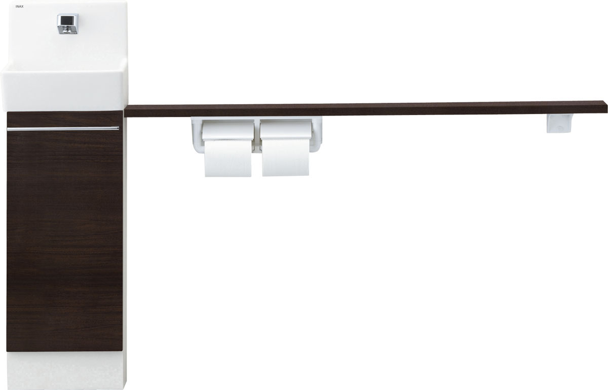 特別セーフ LIXIL INAX トイレ手洗 コフレル スリム(埋込)カウンター間口1500サイズ YL-DA82VKH15B:アクアshop-木材・建築資材・設備