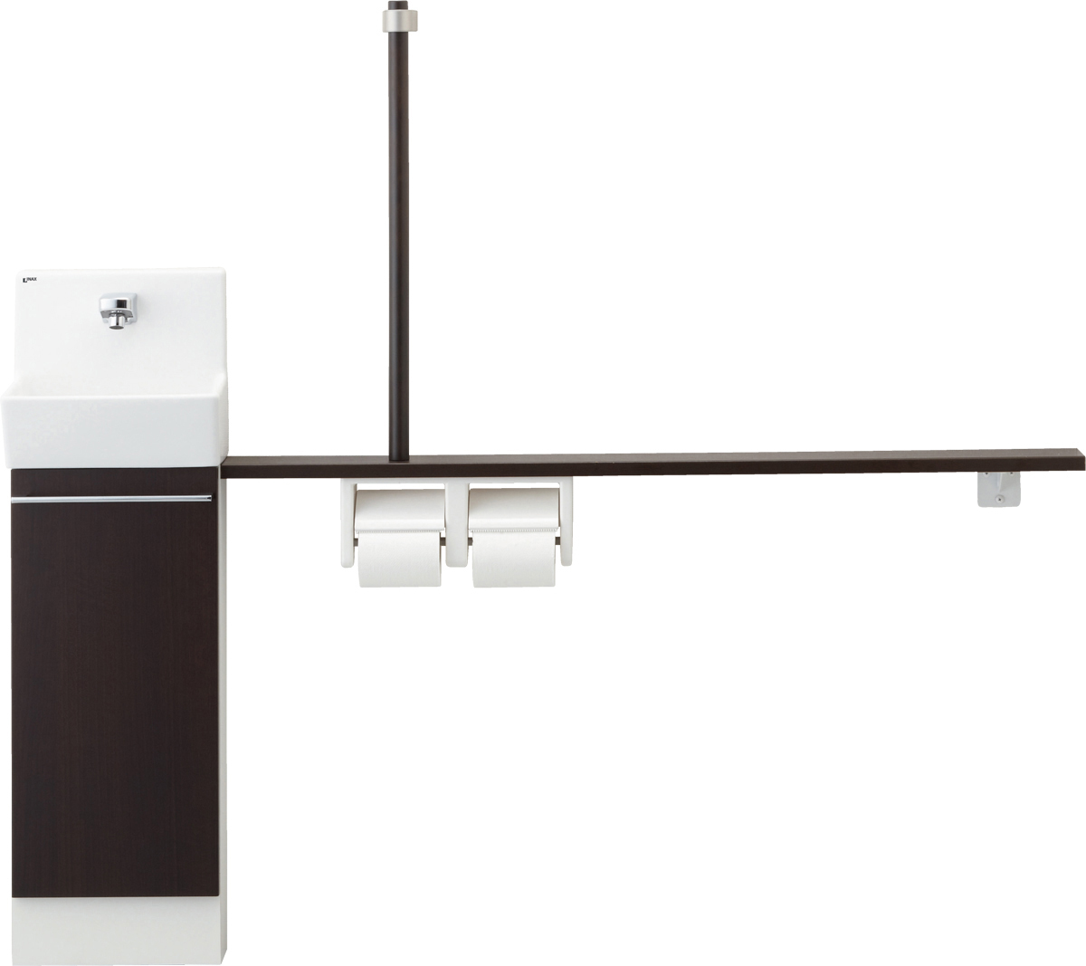 LIXIL INAX トイレ手洗 コフレル スリム(壁付)カウンター間口1500サイズ YL-DA82STA15B