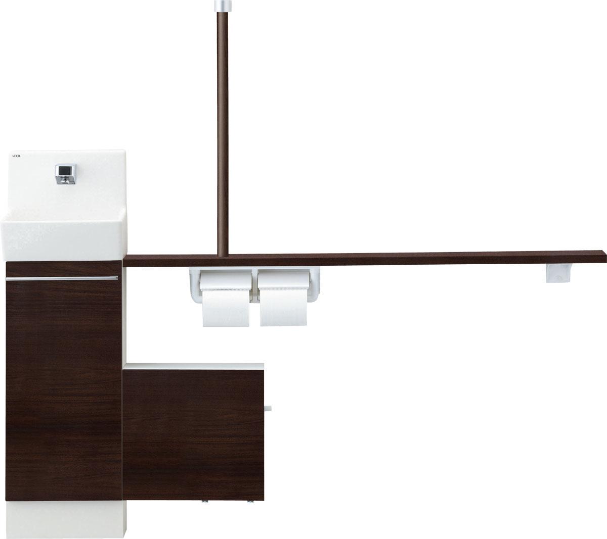 LIXIL INAX トイレ手洗 コフレル スリムタイプ 壁付 カウンター間口1500サイズ YL-DA82SSWL15B YL-DA82SSWR15B 人気,限定セール