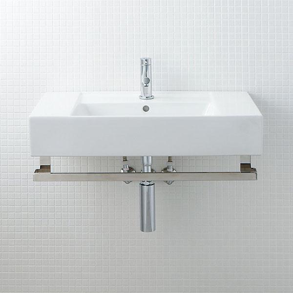 LIXIL INAX サティス洗面器(YL-558タイプ) ボトルトラップ仕様 単水栓 メタルバーセット YL-D558YTG(C) YL-D558YTH(C)