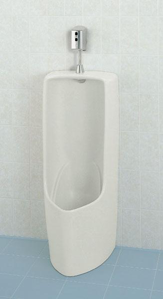 LIXIL INAX トラップ着脱式 小形ストール小便器(床排水)自動洗浄装置セット U-331RM + OK100SET