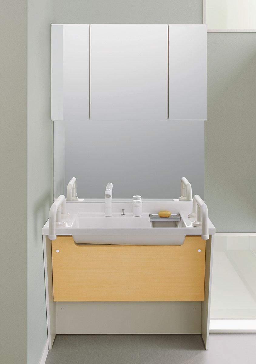 LIXIL INAX 洗面化粧台 ドゥケア・カウンター/コンポタイプ 間口 900mm DCXO-905SYT2(P)/VS2H