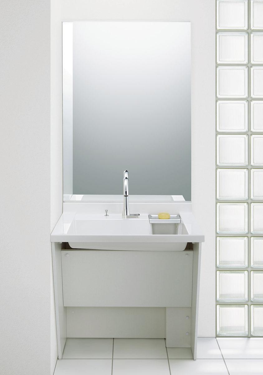 LIXIL INAX 洗面化粧台 おトク ドゥケア カウンター コンポタイプ S 750mm 間口 おしゃれ VP2H DCXO-757J1