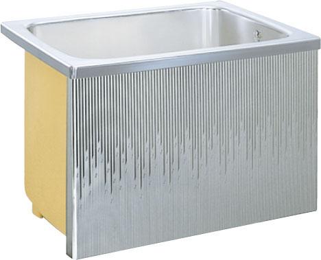 LIXILサンウエーブ ステンレス浴槽据置式 1方全エプロン間口80センチタイプ  SA080-12RA-BL  SA080-12LA-BL