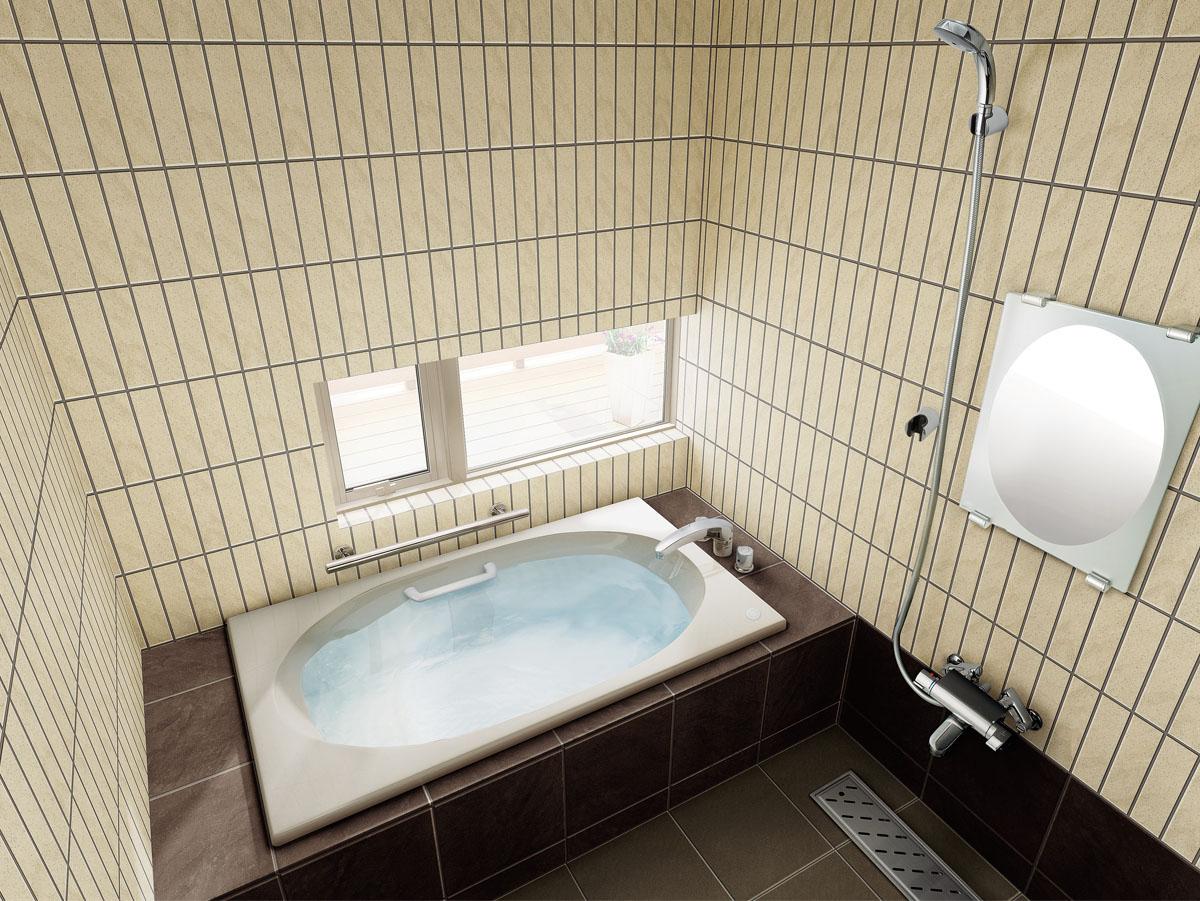 LIXIL INAX 浴槽 シャイントーン 1300サイズ(サーモバスS) VBND-1300