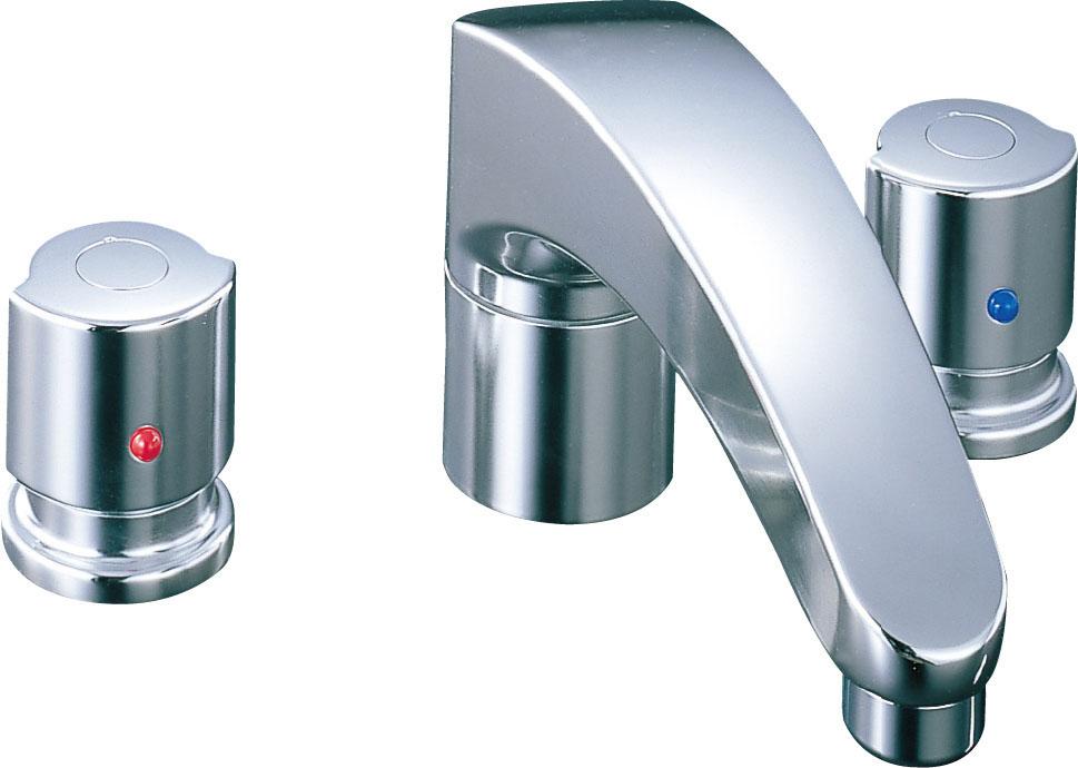 LIXIL INAX 2ハンドルバス水栓 BF-A090B BF-A090B-U
