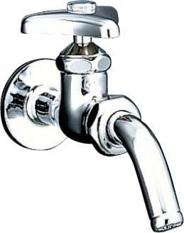 LIXIL INAX 単水栓 LF-7R-13 今ダケ送料無料 吐水口回転形横水栓 新商品 ユーティリティ用水栓