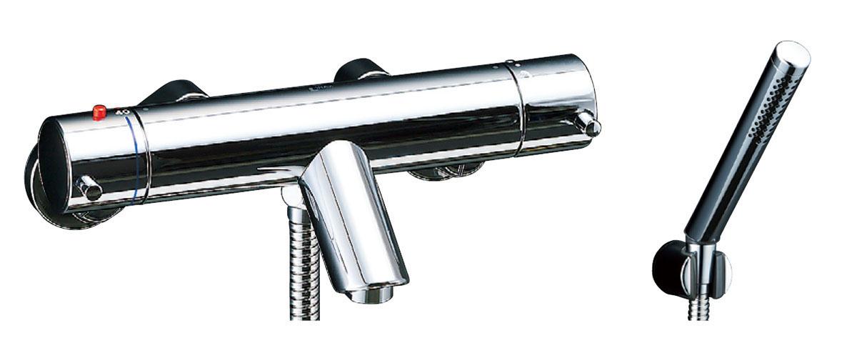 LIXIL INAX サーモスタット付シャワーバス水栓 スプレーシャワー 洗い場専用 eモダン BF-E147T BF-E147TN