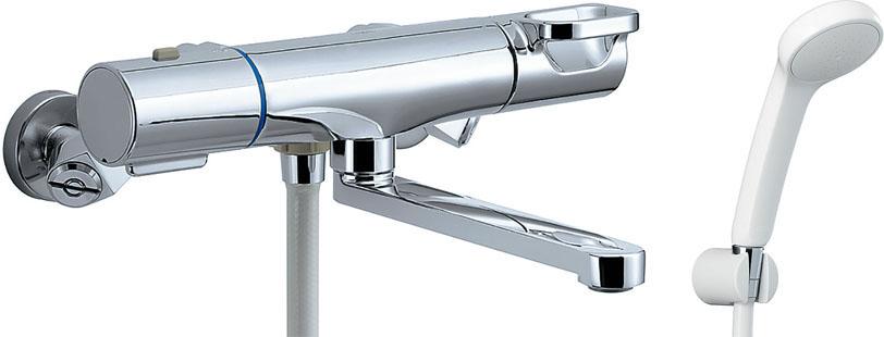 LIXIL INAX サーモスタット付シャワーバス水栓エコフルスプレーシャワー浴槽・洗い場兼用 クロマーレS BF-WM145TSG(300) BF-WM145TNSG(300)