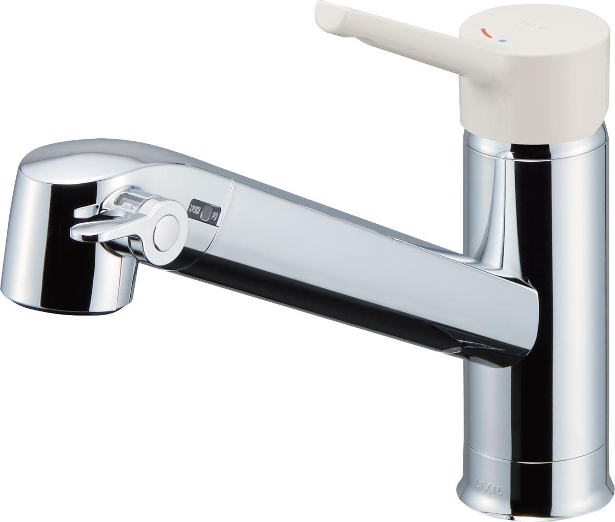 LIXIL INAX オールインワン浄水栓 シングルレバー混合栓 FNタイプ JF-AG442SYX(JW) JF-AG442SYXN(JW)