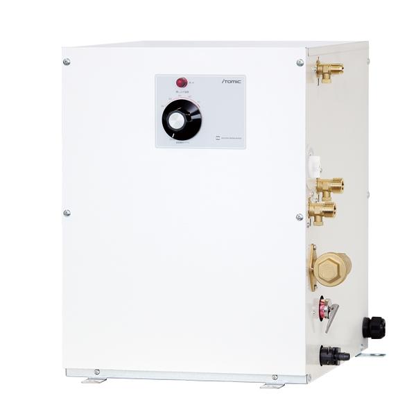 イトミック 小型電気温水器 ESNシリーズ 床置型 貯湯量12L 単相200V 適温出湯タイプ ESN12A(R/L)X215C0