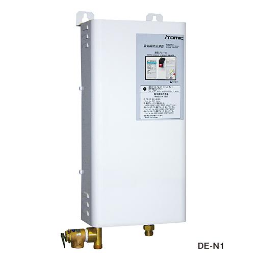 イトミック 小型電気温水器 壁掛型瞬間湯沸器 DE-N1シリーズ 号数換算8.6 三相200V DE-15N1