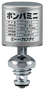 10%OFF カクダイ 水撃防止器ボンパミニ 643-802 ファッション通販 水栓上部型