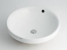 カクダイ LUJU リュウジュ 丸型洗面器  493-000