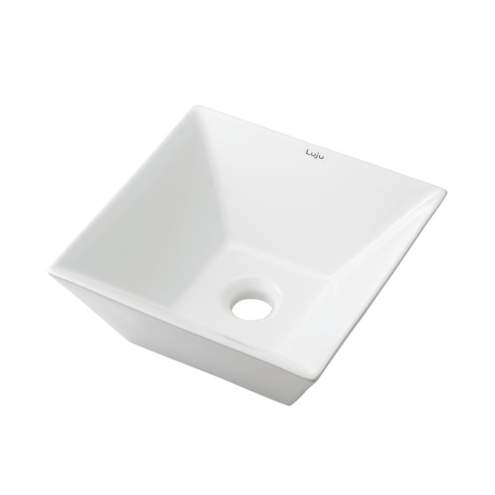 カクダイ LUJU リュウジュ 角形手洗器 493-082
