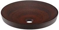カクダイ 毎週更新 LUJU 瑠珠 丸型洗面器 かまはだ 493-014-M 35%OFF 窯肌