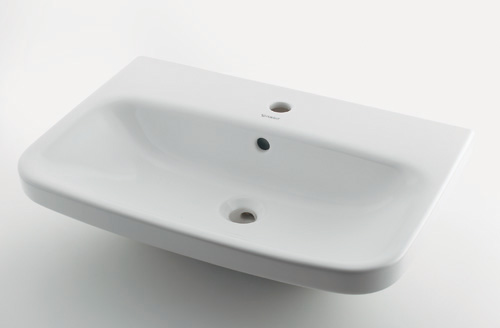 カクダイ DURAVIT デュラビット 壁掛洗面器(1ホール) #DU-2319650000