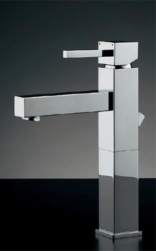 カクダイ 洗面手洗水栓 シングルレバー混合栓(トール) RASATO(ラサート) 183-149