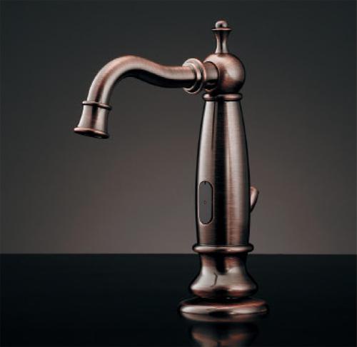 【ふるさと割】 カクダイ センサー水栓(ブロンズ・引棒付き) 713-350-BP:アクアshop-木材・建築資材・設備