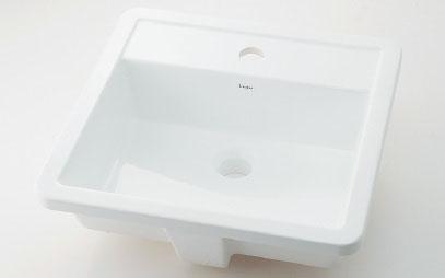 カクダイ Luju(リュウジュ) アンダーカウンター式洗面器 493-076