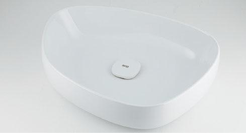 カクダイ Olympia(オリンピア) 洗面器(ホワイト) #LY-493210