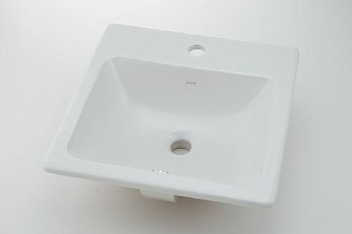 カクダイ VitrA ヴィトラ 角型洗面器 #VR-5463B0030001