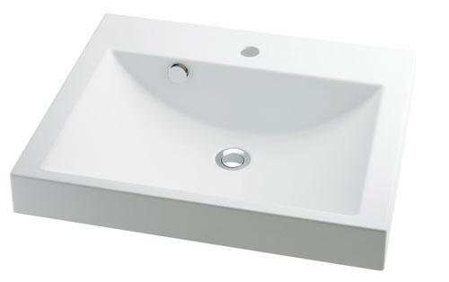 カクダイ CORPOSO コルポーゾ 角型洗面器 493-072