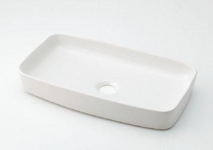 カクダイ MINO(ミーノ) 角型手洗器 493-073-W(シュガー)